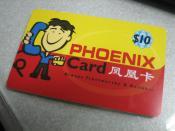 Phoenix IDD Calling Card